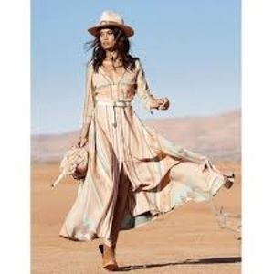 Spell Gypsy Collective Peyote Gown XS
